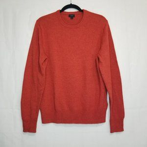 J. Crew Wool Blend Crewneck Men's Sweater Brick M